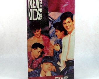 New Kids On The Block Step By Step, Music Video 1990