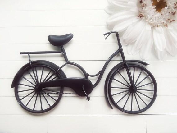 Metal Wall Decor Bicycle : Items similar to metal bike art beach decor retro