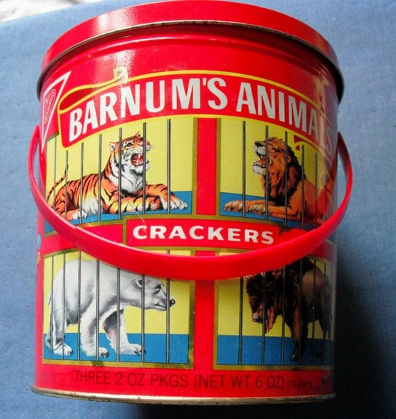 ANIMAL CRACKERS TIN Vintage Nabisco Container by SecondhandNel570 x 604 jpeg 77 КБ