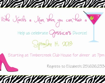 Divorce Party Invitations Gangcraft Net