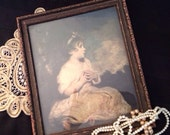 Vintage Framed Wall Art Napoleonic Child
