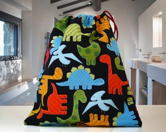 Kids, Boy's, Child's, Dinosaur Wash Bag