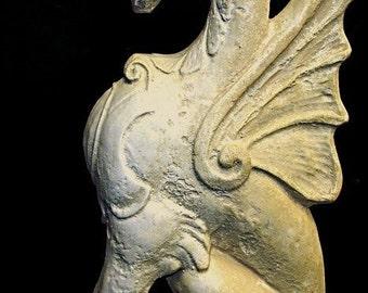 Griffin Gargoyle Gryphon Mythical Lion Eagle Statue