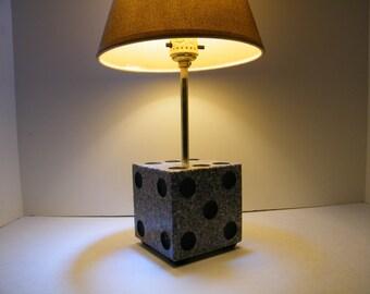 Lamp/ Desk Lamp/ Dice Stone Lamp/Table Lamp/ Desk Lamp