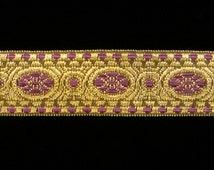 "833.3 Metallic galloon trim - Lavender 1"" (25mm)"