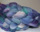 Purple Blue - Soft Handdyed BFL Roving