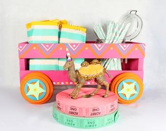 Custom Circus Wagon- Party decoration