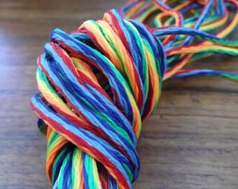 Bright Rainbow Cord