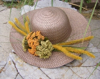 Hat for wedding, church, garden party, Kentucky Derby, tea, steampunk, Victorian, neo-Victorian costume. One of a kind.