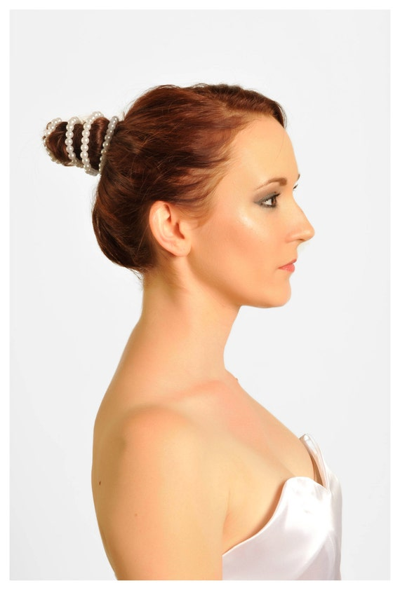 Bun Hair Pieces For Wedding Thalia Bun Wrap Wedding Hair