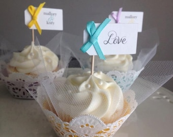 Simply Creative - Tulle & Lace Cupcake Wrappers