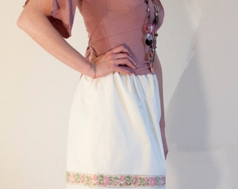Flower band skirt, size S/M