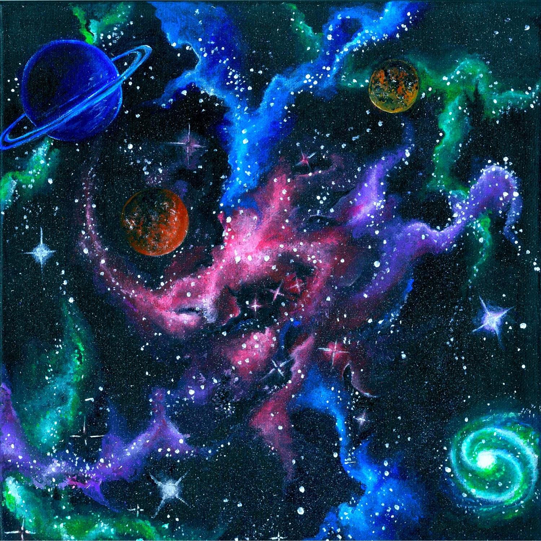 Galaxy Room Paint