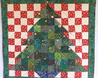 Heirloom Quilted Advent Calendar