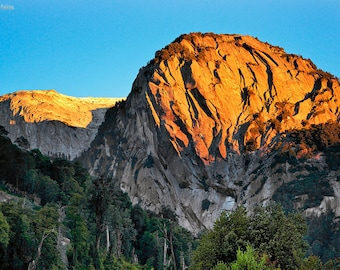 Landscape Photography, Nature Photography, Wall Decor,  Chile, Patagonia, Mountain,  Sunrise, Rock, National Park, Cochamo, Valley