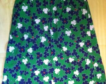 Very Cute Ladybug and shamrock skirt retro 50's style