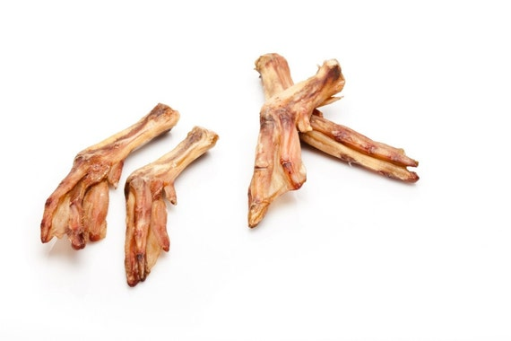 50 Dehydrated Duck Feet Dogs Treat Chews By Recycledpetsnorcal