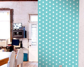 Polka dot self-adhesive modern vinyl Wallpaper wall sticker - Removable wall sticker C017