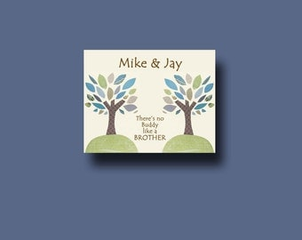 Special Wedding Gift For Brother : , Brother Gift PrintPersonalized Gift for BrotherWedding Gift ...