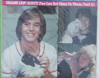 Teen Beat Star Magazine October 78 Shawn Cassidy Leif Garrett Scott Baio
