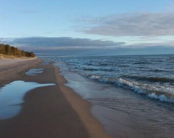 Landscape Photography-Lake Michigan Beach Fine Art Print