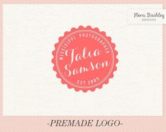 Custom Logo Design and Watermark - Premade  FB031