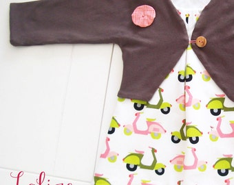 dress with a soft ecokatoen for babies/toddlers-organic cotton-GOTS
