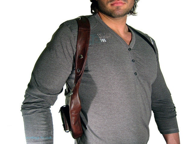 Revolverbag men holster bag men bag halter men leather bag men