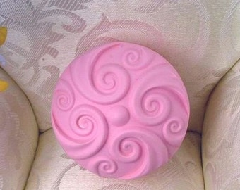 Round Flexible Silicone Mold Silicone Mould Candy Mold Chocolate Mold Soap Mold Polymer Clay Mold Resin Mold R0295