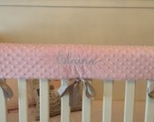 Top Seller: Best Selling Items, Most Sold , Etsy Sold ,Embroidered Crib Rail Cover/ Crib Rail Pad/Create Your Own!