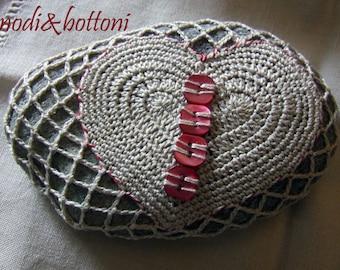 Sea stones: two hearts, 1