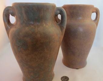 Vintage McCoy rustic vase c. 1930.