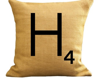 5 Digital Images Instant Download Scrabble Tile Inspired Letter H 2 PNG & 3 JPG 400 dpi Images Create a Scrabble Pillow a Scrabble Coaster