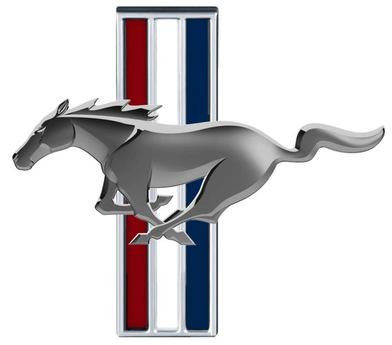 Ford mustang emblems