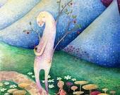 Kindness at Dawn - A4 Print