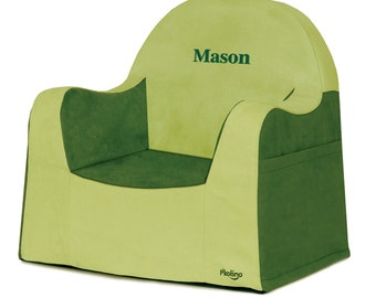 P'kolino Personalized New Little Reader Chair- Green (add name to be personalized in Notes)