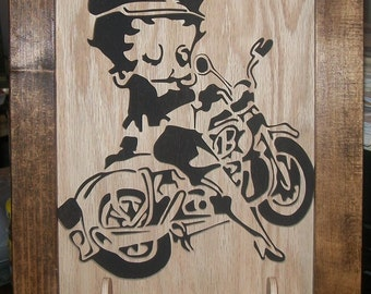 BETTY BOOP MOTORCYCLE