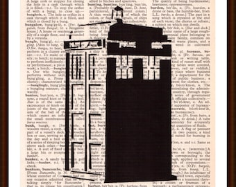 Doctor Who, Tartis black and white contrast - 50 years of the Doctor