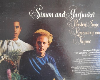 Simon and Garfunkel - Parsley Sage Rosemary and Thyme vinyl record