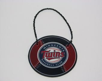 Minnesota Twins Door Knob Hanger - Boys Room Decor - Christmas Ornament