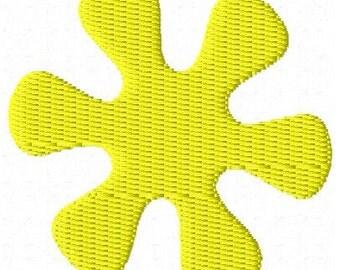 Groovy Flower Mini Embroidery Design