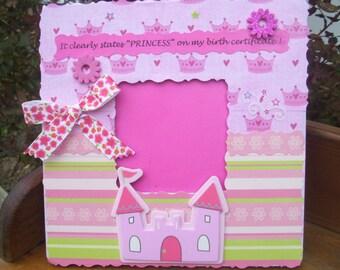 Princess Castle Frame