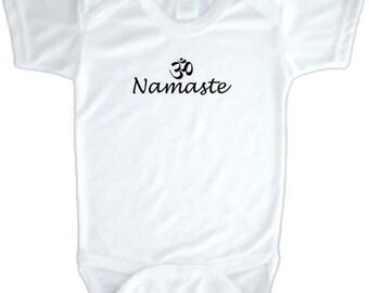 Namaste, Onesie, Baby, Baby Onesie, Baby bodysuit, #O1