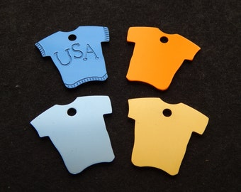 Laser Engraved T-Shirt Tag