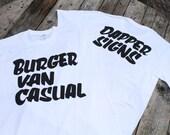 Burger Van Casual T-shirts by Dapper Signs