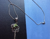 Key Charm Necklace - 19 inches long