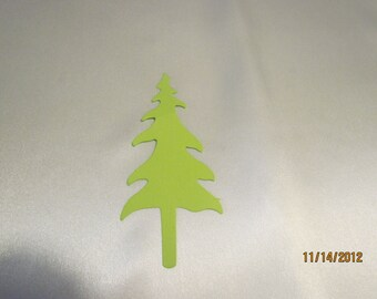 pine tree die cut