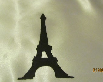 Eiffel tower die cut