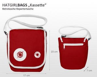 """Mini reporter bag """"Deck"""" in. Colors"""