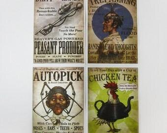 Fable 3 idee rivoluzionarie poster - Set di 4